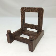 G436: Japanese wooden stand for plate or bowl made from popular TAGAYASAN 1