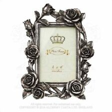 ALCHEMY ENGLAND Gothic Steampunk Wall/Table Picture PHOTO FRAME Rose & Vine