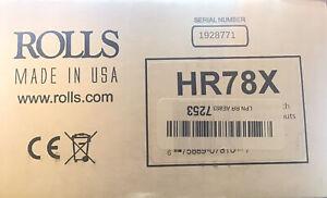 Rolls HR78X AM/FM Digital Tuner with XLR Output