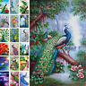 5D Full Drill Diamond Painting Peacock Embroidery Cross Stitch Home Wall Decor