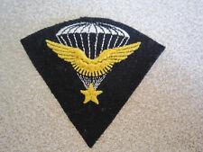 Insigne Parachutiste 1er RCP Chasseurs Parachutistes brodé modèle 1945