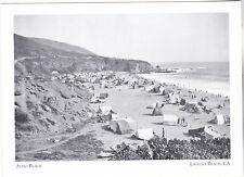 """Aliso Beach"" w/Rented Tents(.50 Daily)-1920's-*Laguna Beach CA {Postcard} (#188"