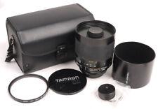 Tamron SP 500mm F8 Adaptall-2 Reflex Lens - MINT - Choice of Mounts