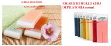 10 Ricariche Rullo Cera Depilatoria  Cartuccia Roll on Ceretta 10OmL ESTETICA