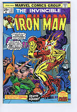Iron Man # 72 Marvel 1975