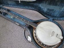 Slingerland May Bell style B five string banjo - USA made 1920's - stunning.