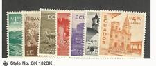 Ecuador, Postage Stamp, #C291-C297 Mint LH, 1956