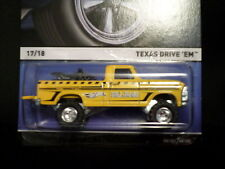 HW HOT WHEELS 2015 REAL RIDERS  #17/18 TEXAS DRIVE 'EM HOTWHEELS YELLOW