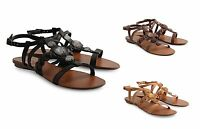 New Esprit Women's Ankle Strap Sandals Summer Shoes Black Brown Tan Taupe E10371
