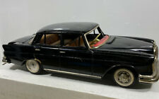 """Classic Old Tin Friction Toy Car Big 12"""" Mercedes Benz 220s"""