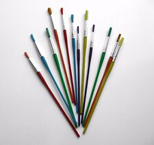 Paint Brushes Assorted Sizes Kids Painting Art Craft - Pack of 12