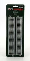 "Kato HO Straight Unitrack Section 9-3/4"" 246mm (4) 2-150 KAT2150"