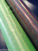 """Holographic shimmer print Computer Foil Printed Fabric 45""""  M7-6 & 7 Mtex"""