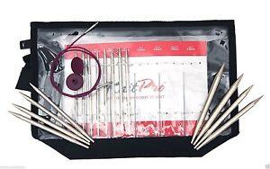 KnitPro Nova Metal Interchangeable Needle Deluxe Set, Silver