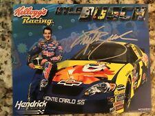 VTG 2006 KYLE BUSCH AUTOGRAPHED HENDRICKS MOTORSPORT NASCAR KELLOGGS RACING CARD