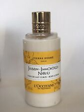 L'Occitane Jasmin Immortelle Neroli Perfumed Body Lotion Pierre Hermes 250ml New
