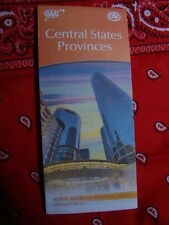 CENTRAL STATES PROVINCES REGIONAL SERIES HIGHWAY MAP AAA 4/16-7/17 NEW