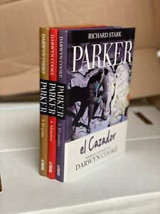 TRES NOVELAS GRÁFICAS DE PARKER • IDW • DARWYN COOKE • RICHARD STARK • SPANISH
