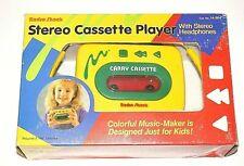 Vintage RadioShack Stereo Cassette Player with Stereo Headphones Rare New
