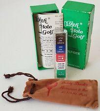 Vintage 19th Hole Golf. Authentic championship Golf-Dice. Dinah Shore Lpga