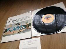 Poulenc LP Le Bal Masque Benoit Rapsodie Negre ALP 2296 Columbia with INSERT NM