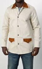 Levi's Vintage Clothing LVC Bedford Western Ranch Over Coat Cord Suede £315 XL