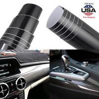 7D Waterproof Carbon Fiber Vinyl Car Wrap Sheet Roll Film Sticker Decal Paper