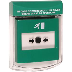 STI 6930-G call point stopper cover for emergency exit break glass