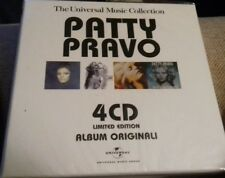 Patty Pravo 4 cd BOX LIMITED EDITION ALBUM ORIGINALI Universal Music  SIGILLATO
