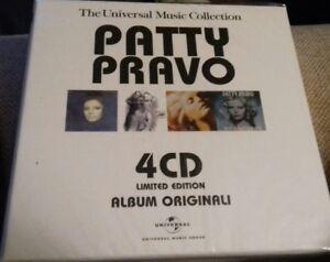 Patty Pravo 4 cd BOX LIMITED EDITION ALBUM ORIGINALI Universal Music  SIGILLATO