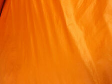 10 mts 106cms wide bright orange  army parachute ripstop nylon material lining