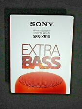 "Sony SRS-XB10 Wireless Speaker Extra Bass - Red ""NEW"""