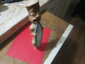 RARE Bud Light  Beer Tap Handle Tiki  with Surfboard CHECK IT OUT 👀