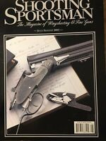 Shooting Sportsman, Magazine Of Wingshooting And Fine Guns July 2003