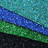 A4 Chunky Glitter Faux Vinyl Leatherette Fabric SheetsDIY HandmadeBowsCraft