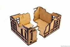 Modular Ruins Kit: 2nd floor: Warhammer, FB, Frostgrave, Mordheim, scenery