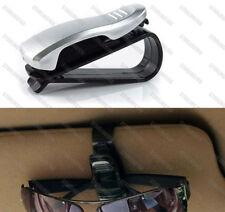 Silver Sun Visor Sunglasses Eye Glasses Card Holder Clip Interior for Subaru