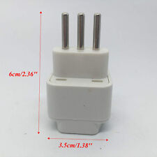 Universal US/UK/EU/AU to Italy Italian Travel AC Power Adapter Plug Converter
