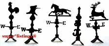 Dept. 56 Weather Vanes Set of 5 Retired 1999 Heritage & Snow Village 52659