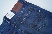 EDWIN slim tapered Herren Men stretch Jeans Hose 29/34 W29 L34 darkblue used NEU