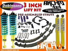 FORD RANGER PX 2011-ON ARCHM4X4 XTREME 3inch / 75mm SUSPENSION LIFT KIT +DD+UCA