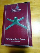 Trimming Traditions Rotating Tree Stand Christmas  26 inch diameter