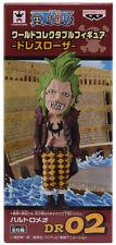 One Piece WCF Dressrosa V2 BARTOLOMEO Figure DR 02 NEW