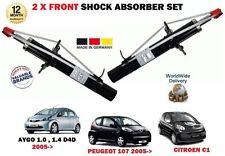 Für Toyota Aygo Citroen C1 Peugeot 107 2005> 2 X Vorne Stoßsdämpfer Satz