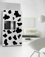 Cow Patches Fridge Kitchen Sticker Waterproof Refrigerator Wall Car Stickers UK