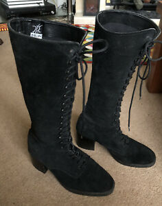 NIKITA SUEDE BOOTS LEATHER SUEDE VINTAGE SIZE 6