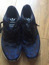 Adidas Blue ZX Flux Italia Trainers Size 10