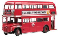 SUNSTAR 2912 2913 2918 ROUTEMASTER models Double decker bus green /red 1:24th