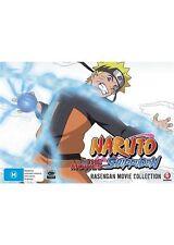BRAND NEW Naruto Shippuden - Rasengan Movie Box (DVD 2015, 4-Disc Set) R4