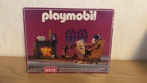 Playmobil 5315 Kaminzimmer, Rosa Nostalgie Serie Opa Ofen.